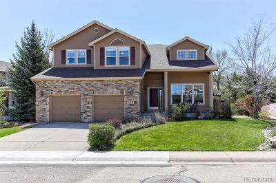 Castle Pines Single Family Home Under Contract: 728 Deer Clover Way