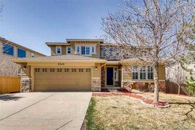Highlands Ranch Single Family Home Under Contract: 3349 Chandon Way