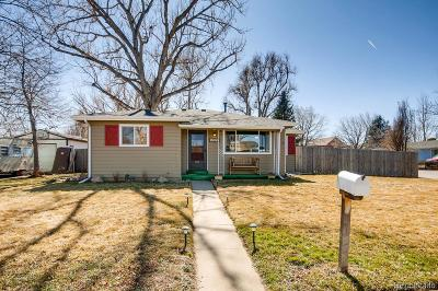 Wheat Ridge Single Family Home Under Contract: 10530 West 45th Avenue