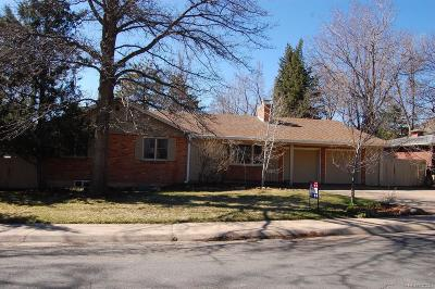 Boulder Single Family Home Under Contract: 620 Hawthorn Avenue