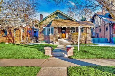 Denver Single Family Home Active: 910 Steele Street