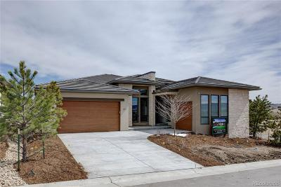 Castle Rock CO Single Family Home Sold: $1,546,889