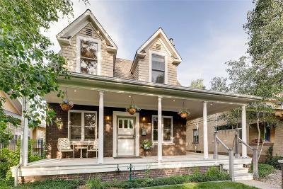 Denver Single Family Home Active: 158 South Humboldt Street