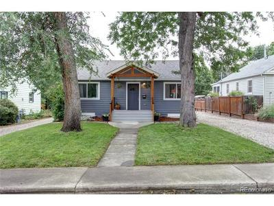 Longmont Single Family Home Under Contract: 820 Sumner Street
