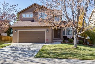 Highlands Ranch Single Family Home Under Contract: 10337 Blue Heron Court