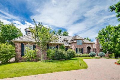 Cherry Hills Village Single Family Home Under Contract: 77 Glenmoor Drive