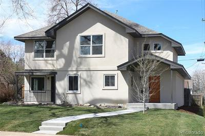 Denver County Single Family Home Active: 2701 South Jackson Street