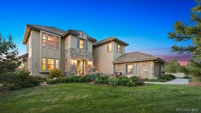 Castle Rock CO Single Family Home Active: $1,325,000