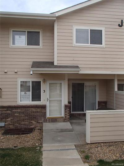 Longmont Condo/Townhouse Under Contract: 1601 Great Western Drive #3
