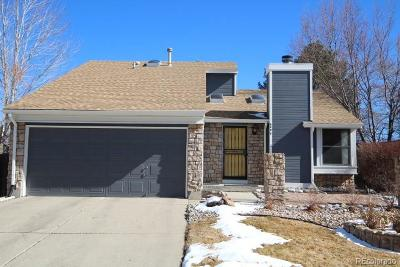 Littleton Single Family Home Under Contract: 6090 South Quail Way