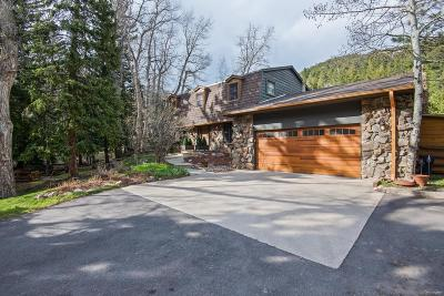 Evergreen Single Family Home Under Contract: 1824 Witter Gulch Road