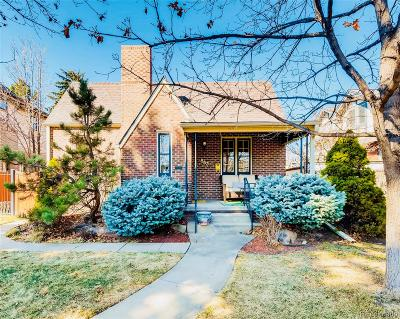 Denver Single Family Home Active: 853 South Gaylord Street
