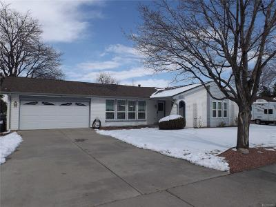 Aurora Single Family Home Active: 12839 East Cedar Avenue