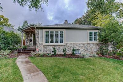 Denver Single Family Home Under Contract: 1465 South Elizabeth Street