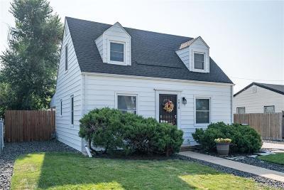 Denver Single Family Home Active: 4810 Raritan Street