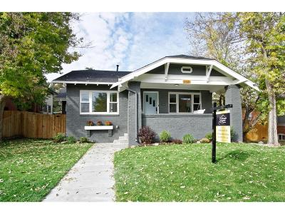 Denver Single Family Home Active: 3117 Perry Street