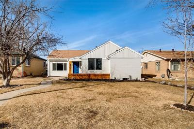 Denver Single Family Home Under Contract: 3055 Fairfax Street