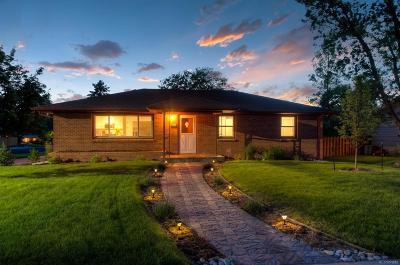 Englewood Single Family Home Active: 4695 South Kalamath Street