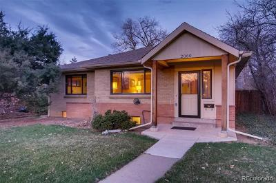 Denver Single Family Home Active: 2060 South Cook Street