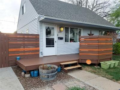 Denver Single Family Home Active: 2505 South Julian Street