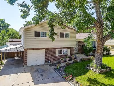 Northglenn Single Family Home Active: 10923 Bannock Street