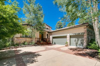 Castle Rock Single Family Home Under Contract: 2512 Tournament Drive