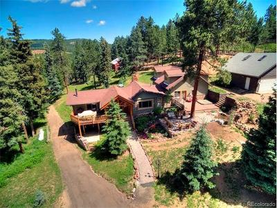 Conifer Single Family Home Sold: 12077 Elk Trail Road