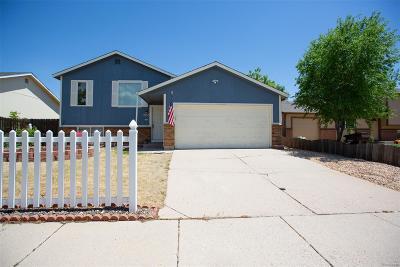 Colorado Springs Single Family Home Active: 2155 Bruno Circle