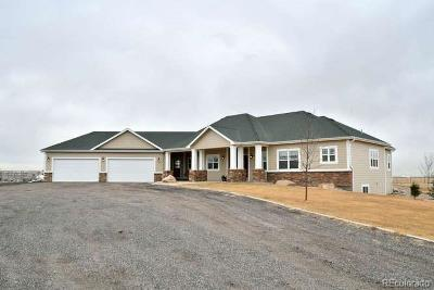 Keenesburg Single Family Home Under Contract: 31385 County Road 10