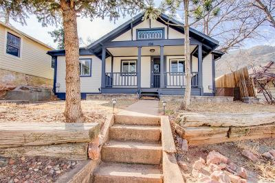 Manitou Springs Single Family Home Under Contract: 104 Oklahoma Road