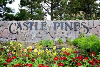 Castle Rock Residential Lots & Land Active: 907 Equinox Drive