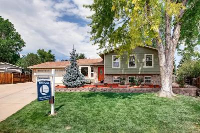 Littleton Single Family Home Active: 7832 South Lamar Street