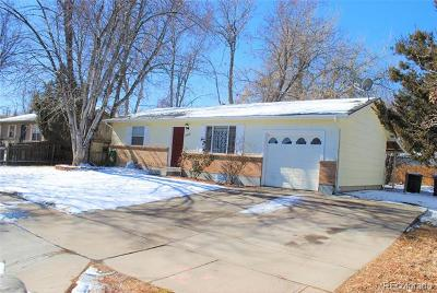 Denver Single Family Home Active: 5565 Crown Boulevard