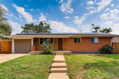 Arvada Single Family Home Active: 5275 West 86th Avenue