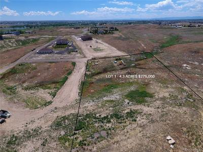 Adams County Residential Lots & Land Active: 9975 East 138th Place