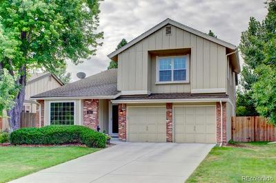 Centennial CO Single Family Home Under Contract: $580,000