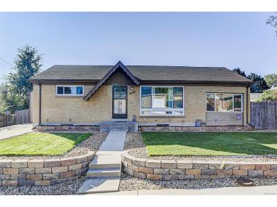 Northglenn Single Family Home Under Contract: 10956 Alvin Drive