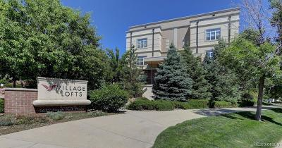 Greenwood Village Condo/Townhouse Under Contract: 5677 South Park Place #101D
