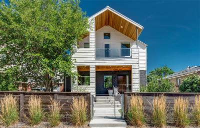 Denver Single Family Home Active: 2329 West 32nd Avenue