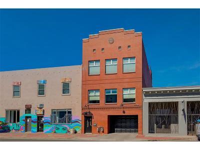 Denver Multi Family Home Under Contract: 919 Santa Fe Drive