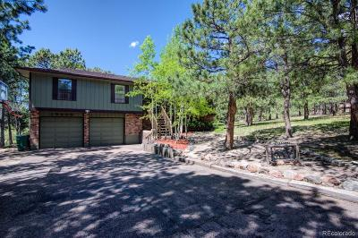 Monument Single Family Home Under Contract: 19400 Glencannon Way