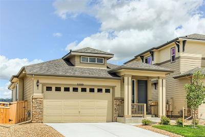 Castle Rock Single Family Home Active: 3280 Youngheart Way
