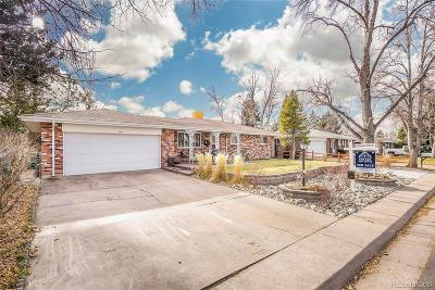 Aurora Single Family Home Under Contract: 13588 East Center Avenue