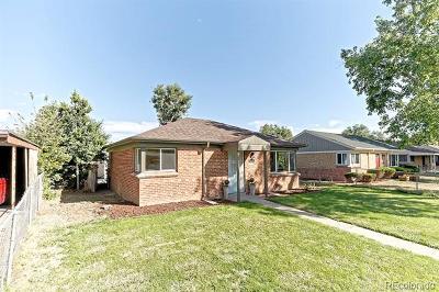 Denver Single Family Home Active: 2880 Pontiac Street