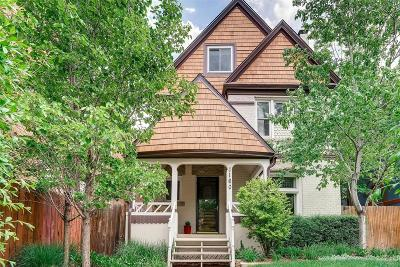 Denver Single Family Home Under Contract: 1160 North Logan Street