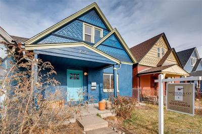 Denver Single Family Home Active: 1625 East 30th Avenue