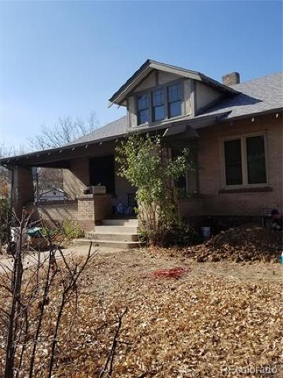 Denver Single Family Home Active: 2305 Hudson Street