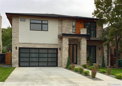 Denver Single Family Home Active: 2510 South Monroe Street
