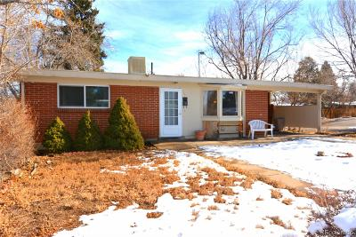 Denver Single Family Home Under Contract: 2690 South Perry Street