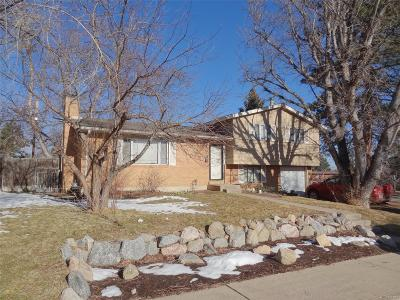 Boulder Single Family Home Under Contract: 3736 Davidson Place